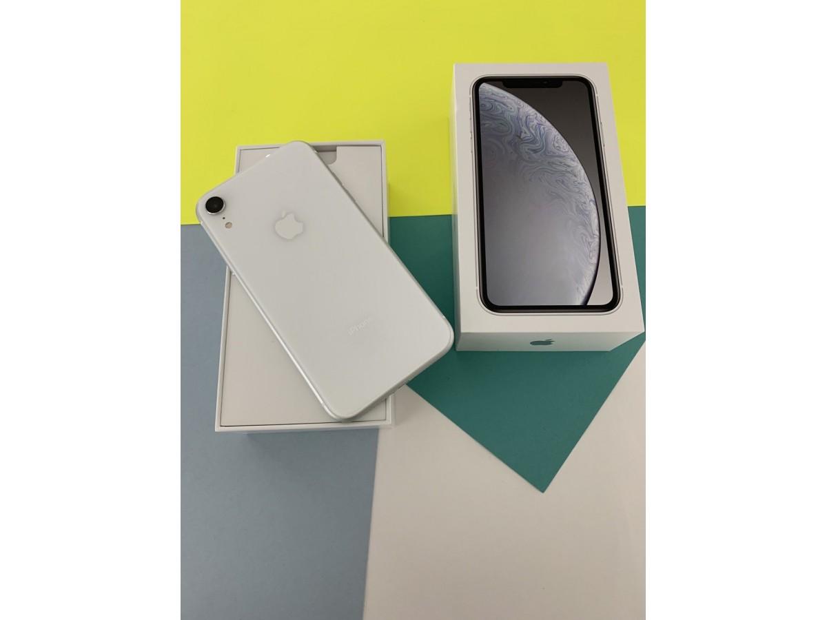 Apple iPhone Xr 128gb White в Тюмени