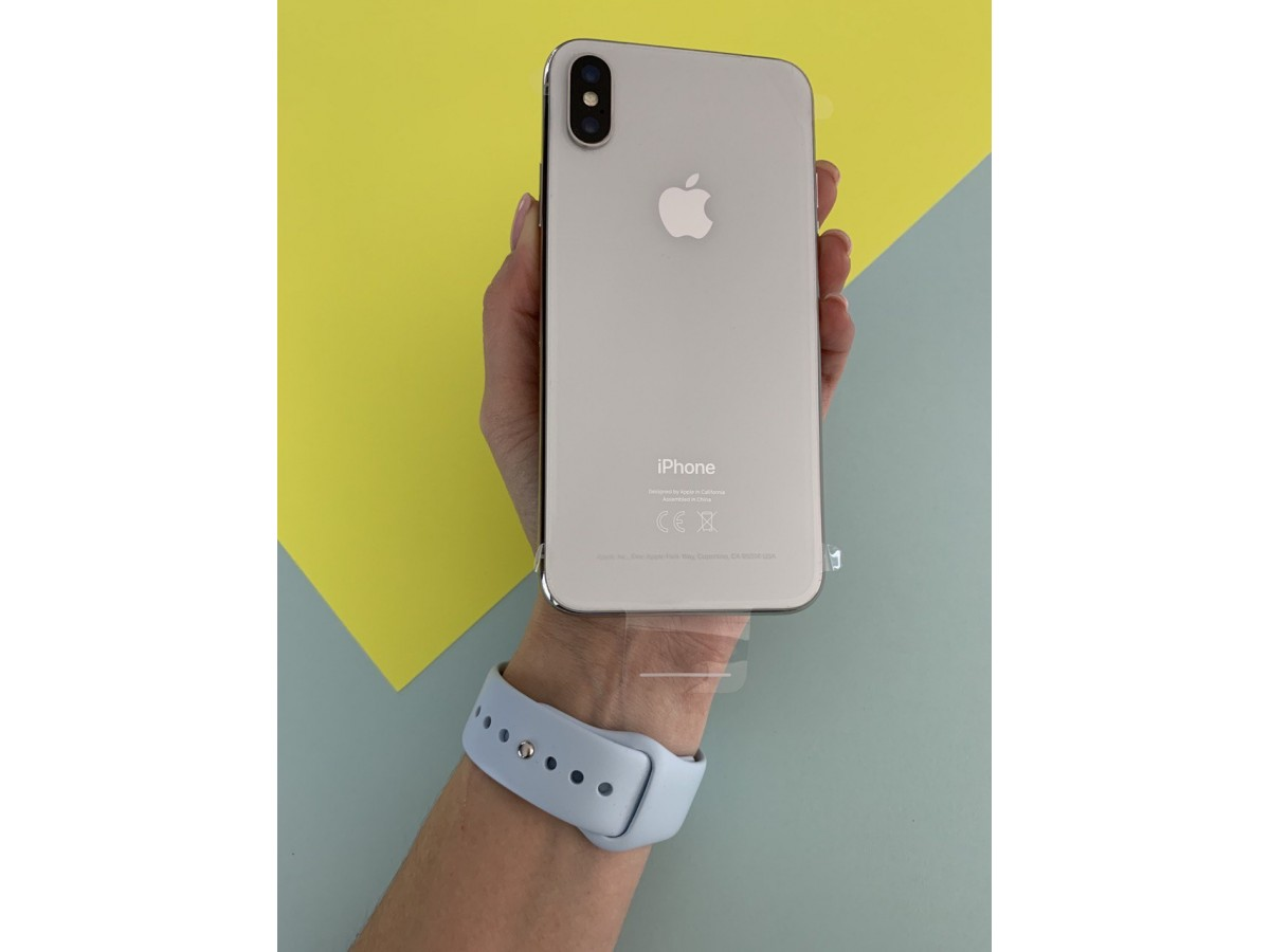 iPhone X 256gb Silver (новый) в Тюмени