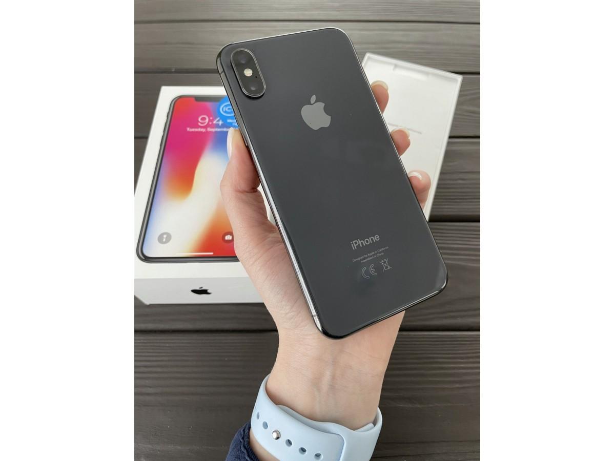 Apple iPhone X 64gb Space Gray в Тюмени