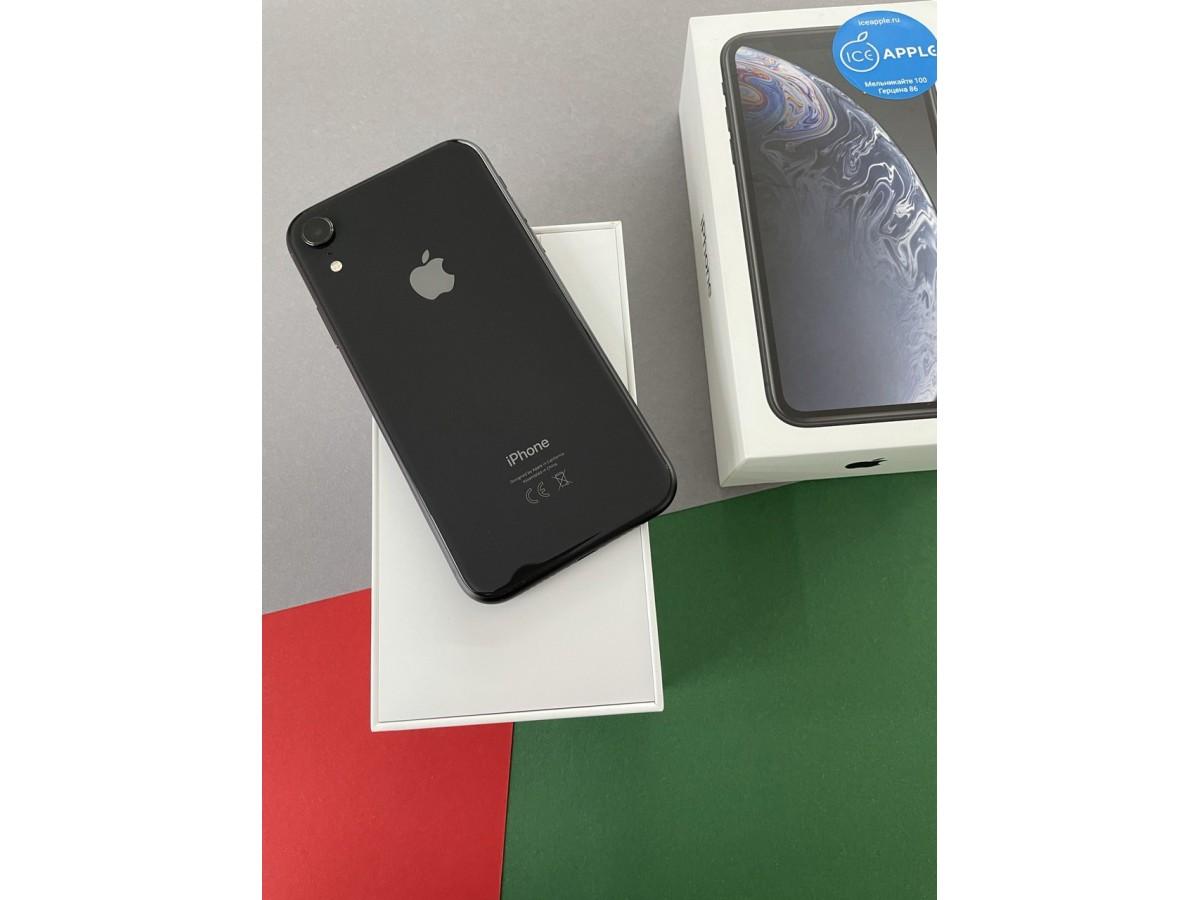 Apple iPhone Xr 128gb Black в Тюмени