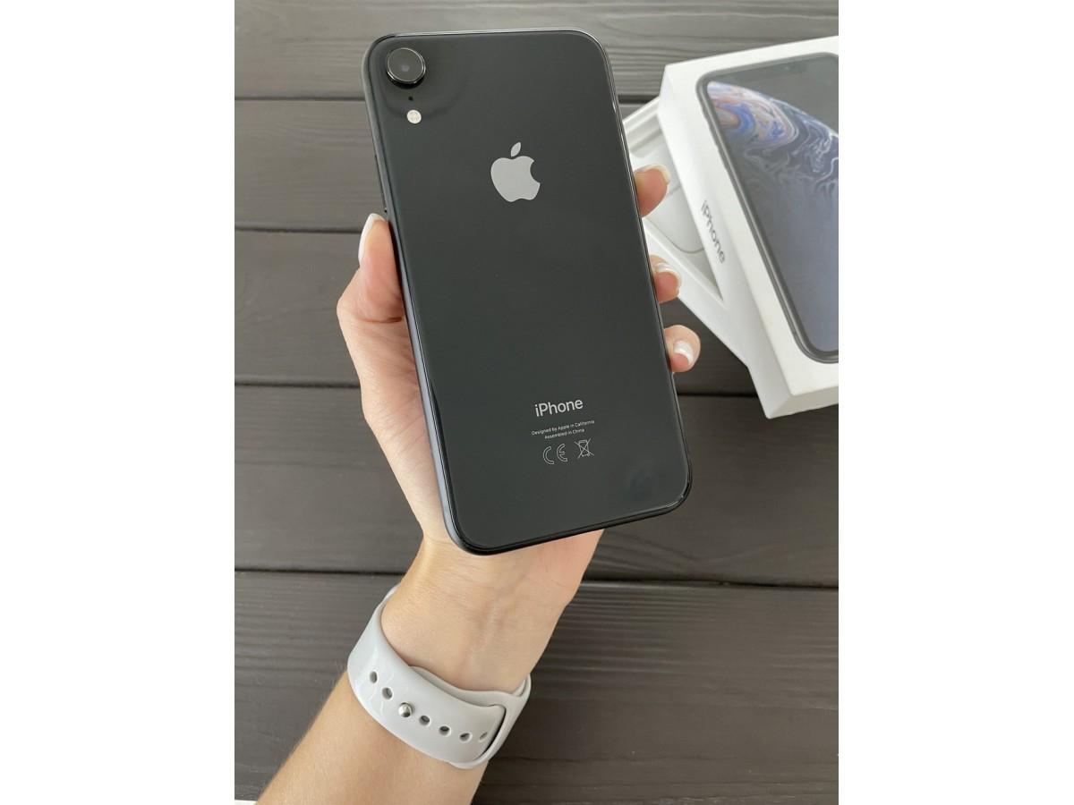 Apple iPhone Xr 64gb Black в Тюмени
