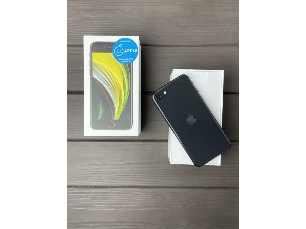 Apple iPhone SE (2020) 64gb Space Gray в Тюмени