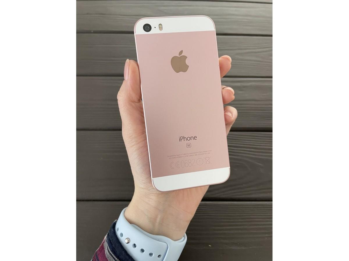 Apple iPhone SE 16gb Rose Gold в Тюмени