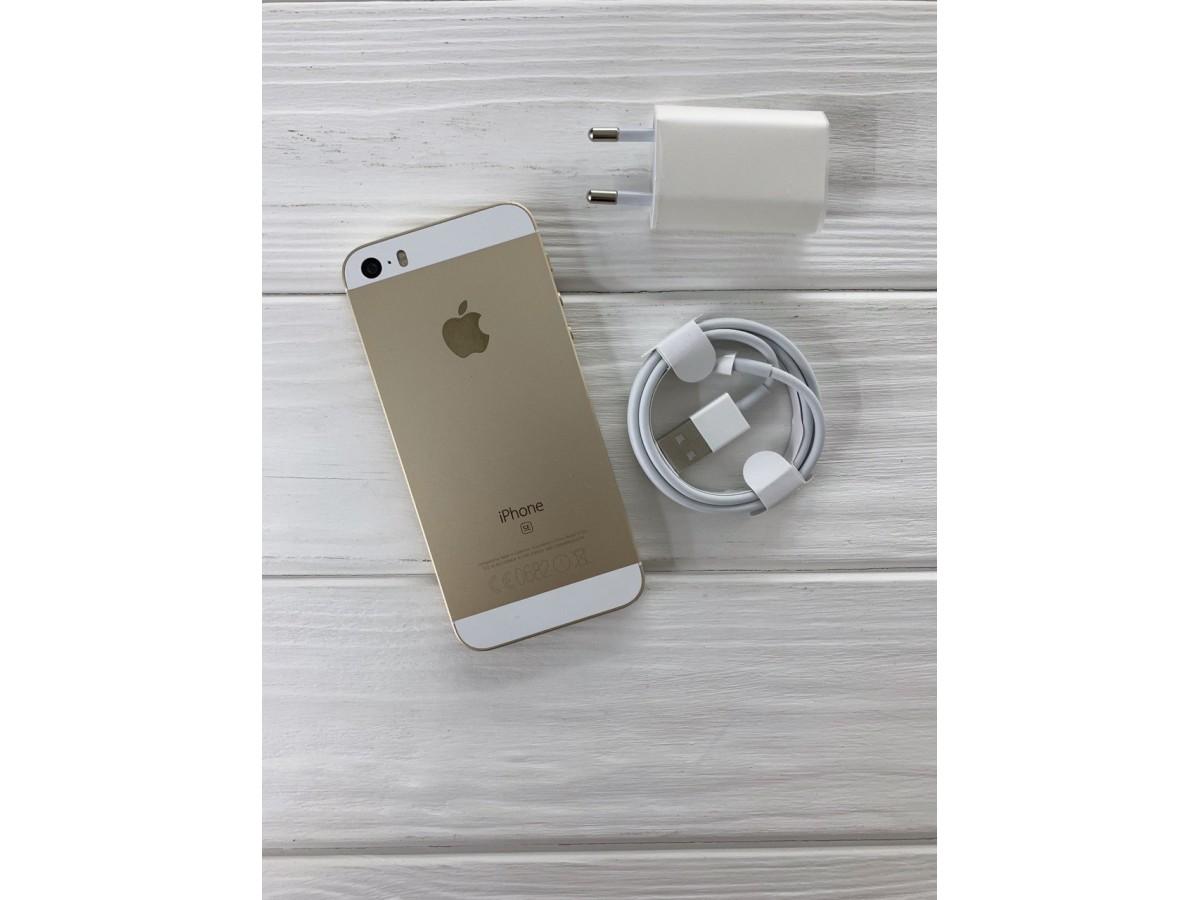 iPhone SE 32gb Gold в Тюмени