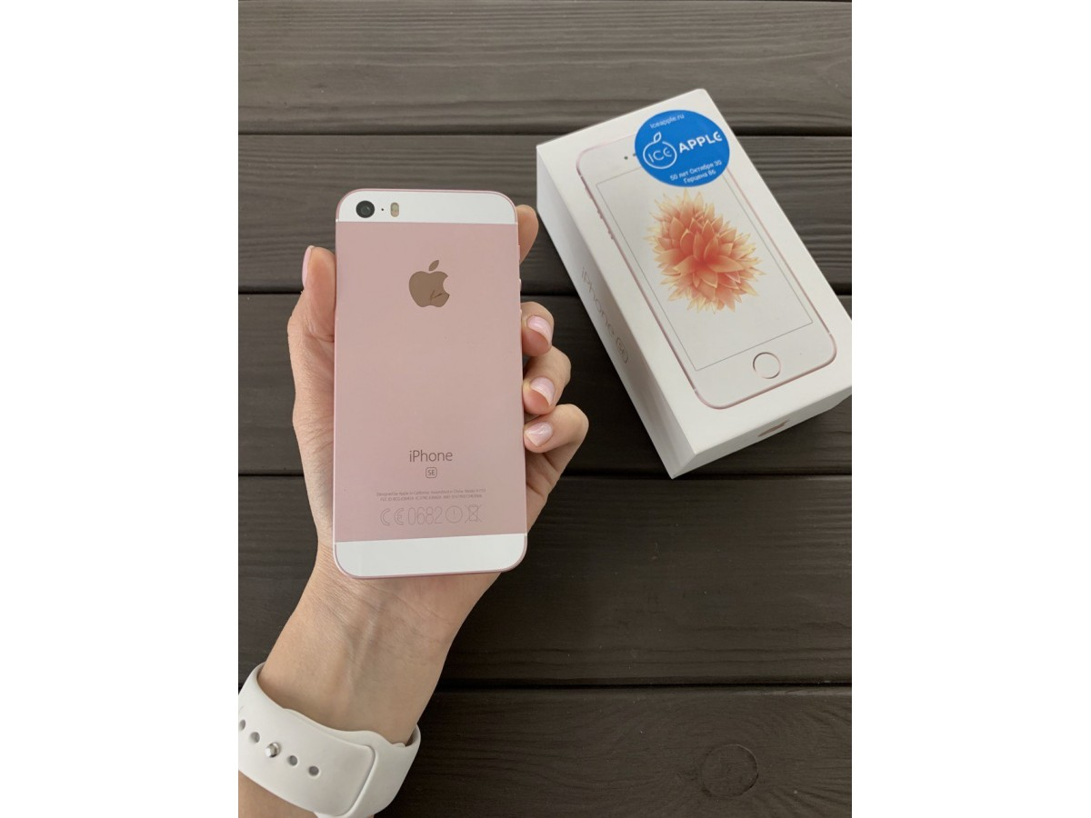 Apple iPhone SE 64gb Rose Gold в Тюмени