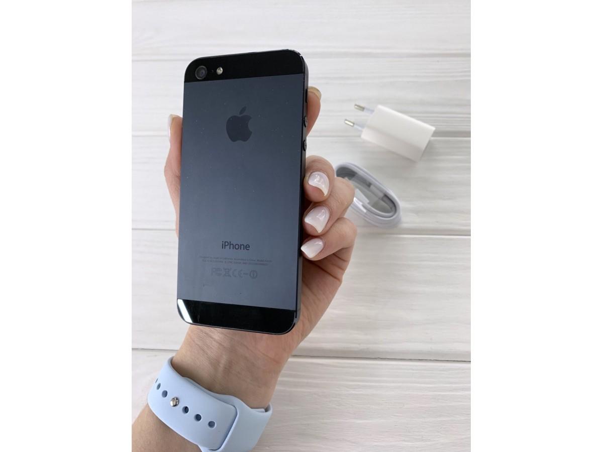iPhone 5 16gb Black в Тюмени