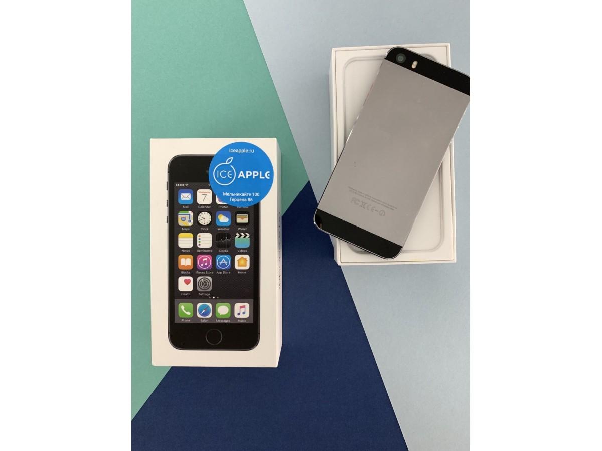 Apple iPhone 5S 16Gb Black в Тюмени