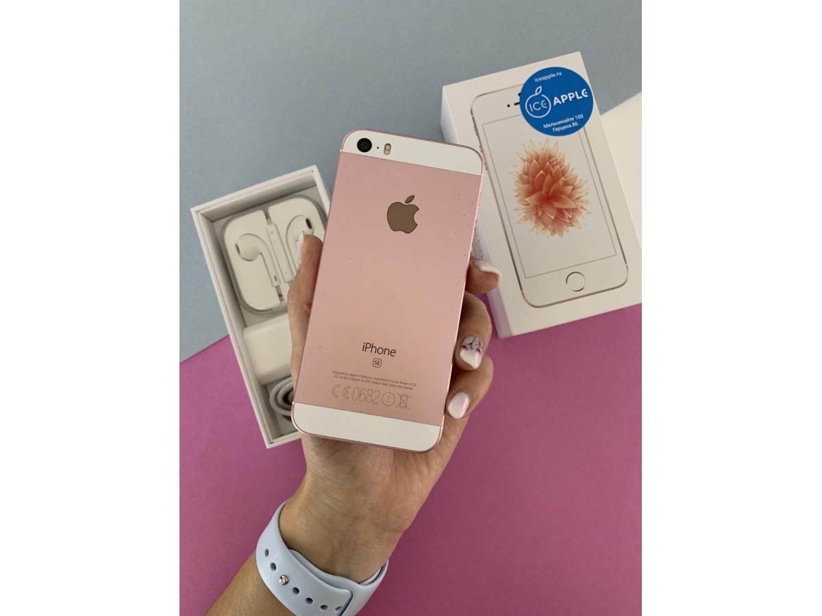Apple iPhone SE 32gb Rose Gold в Тюмени