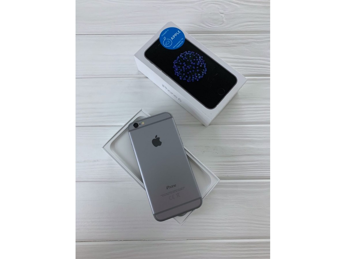 iPhone 6 16gb Space Gray в Тюмени