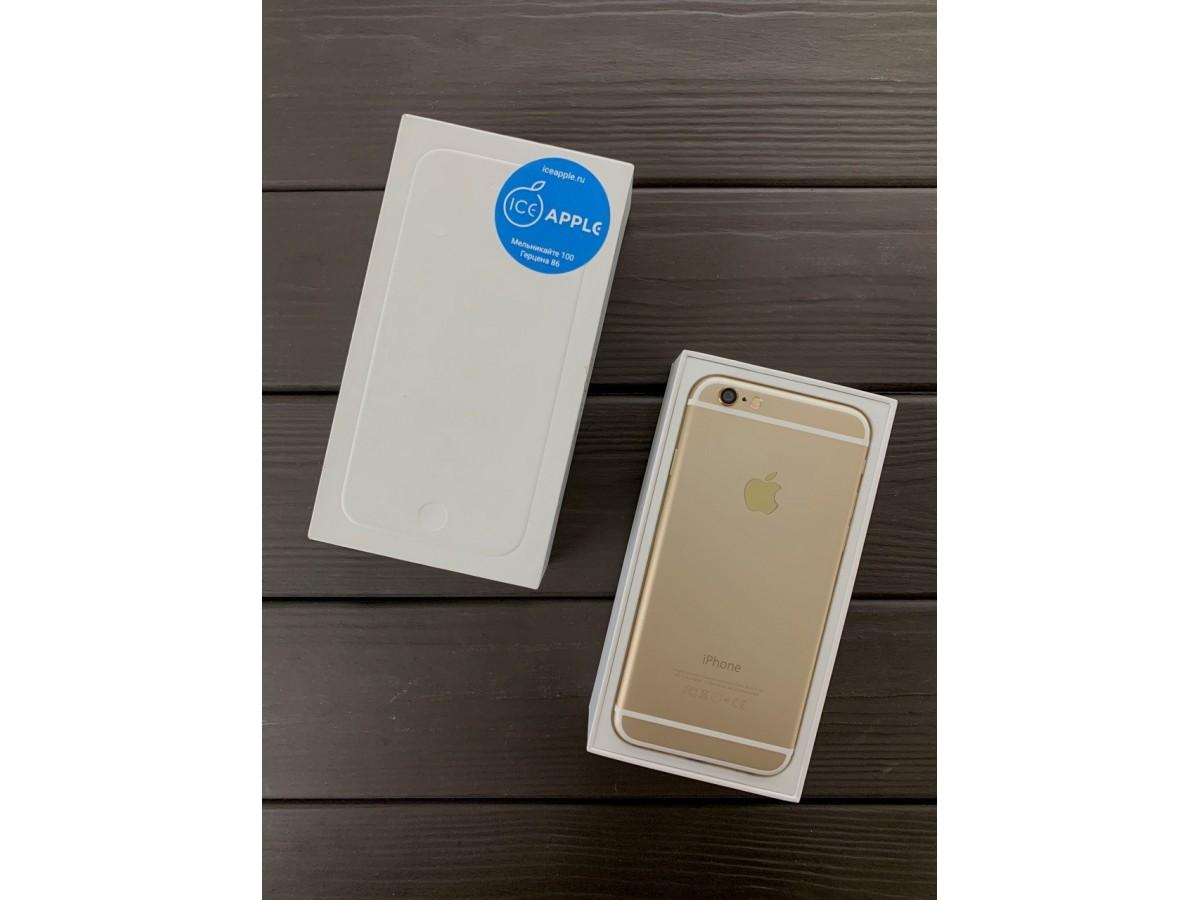 Apple iPhone 6 128gb Gold в Тюмени