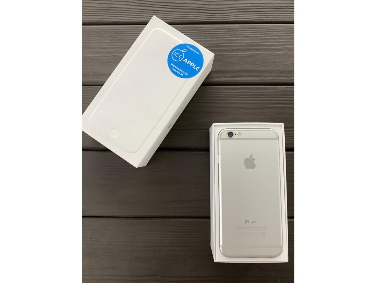 Apple iPhone 6 64gb Silver в Тюмени