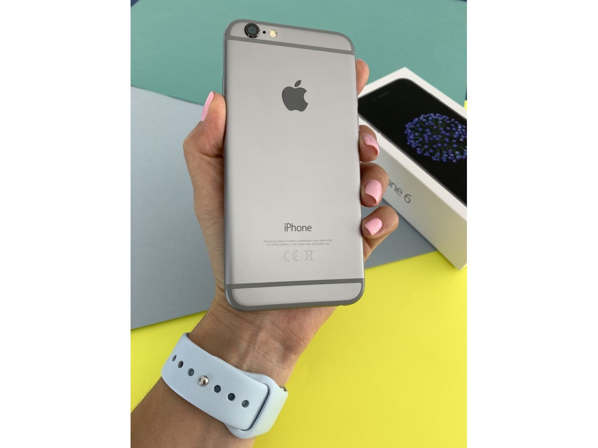 Apple iPhone 6 32gb Space Gray в Тюмени