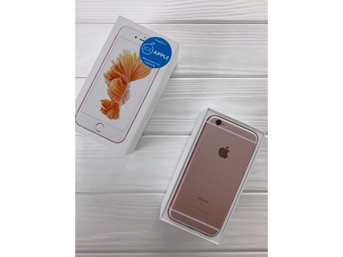 iPhone 6s 128Gb Rose Gold в Тюмени