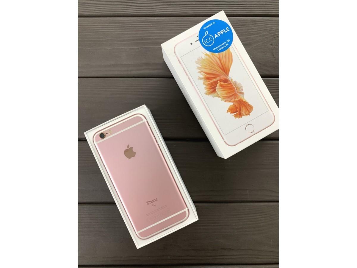 iPhone 6s 64Gb Rose Gold в Тюмени