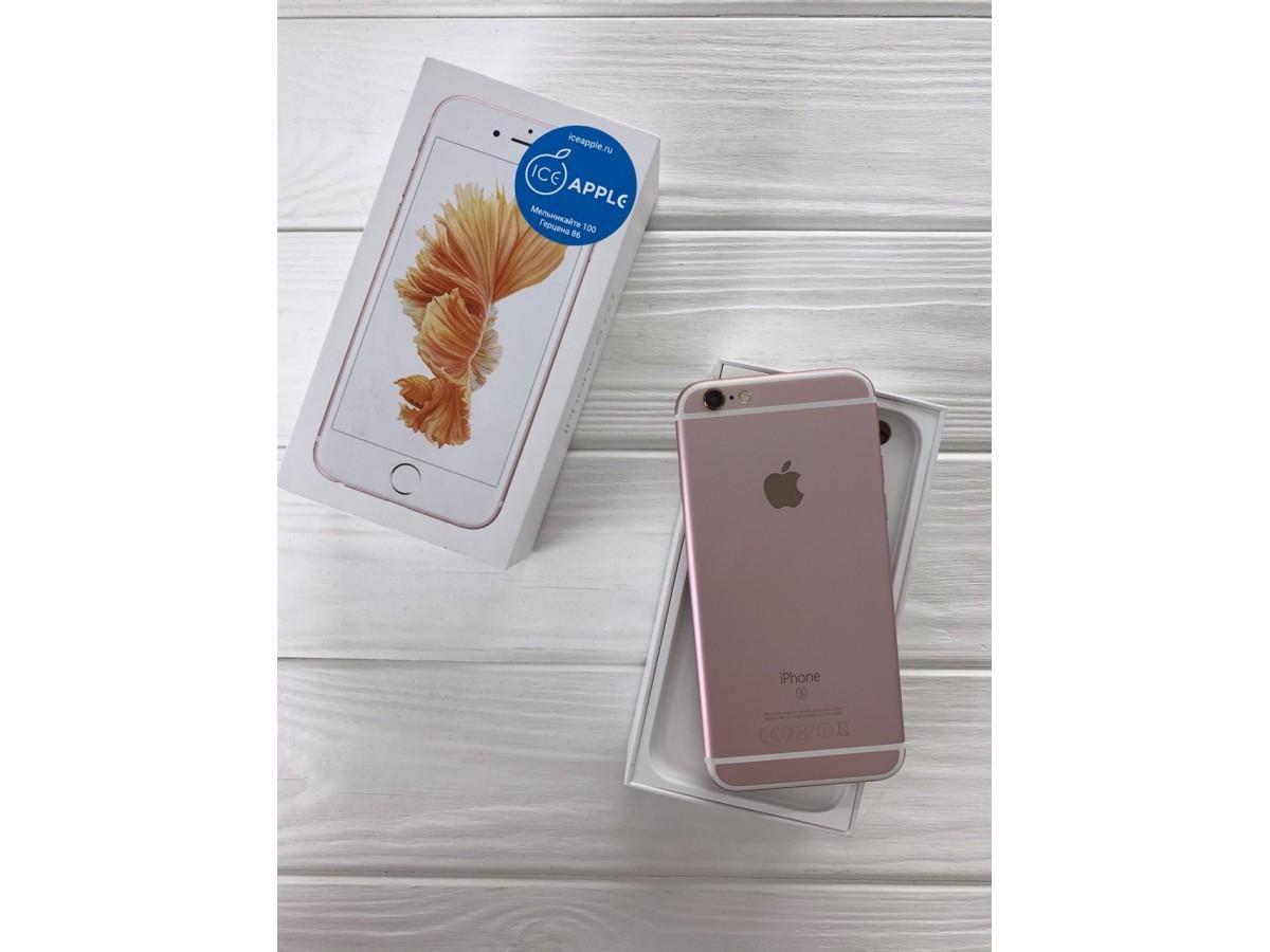 iPhone 6s 32Gb Rose Gold в Тюмени