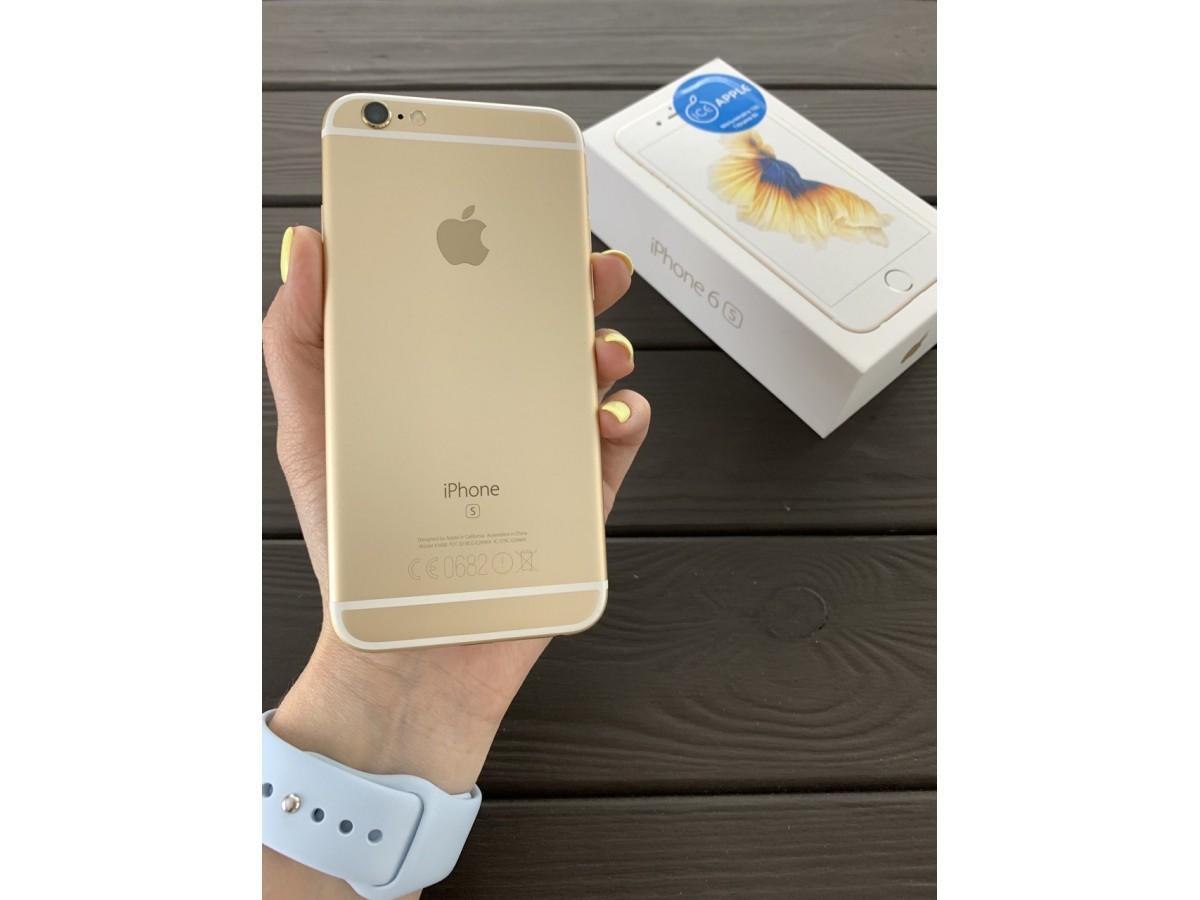 Apple iPhone 6S 32gb Gold в Тюмени