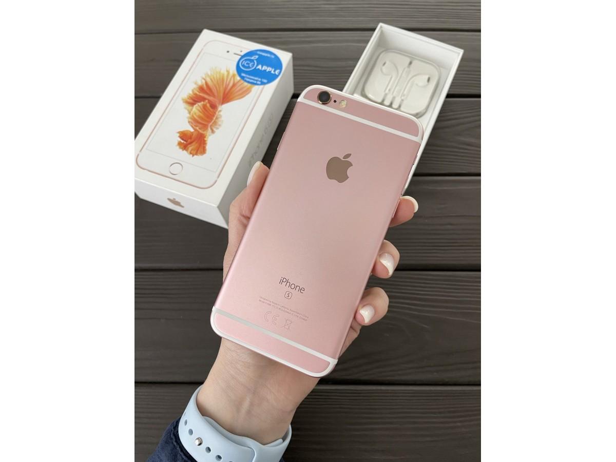 Apple iPhone 6s 32gb Rose Gold в Тюмени