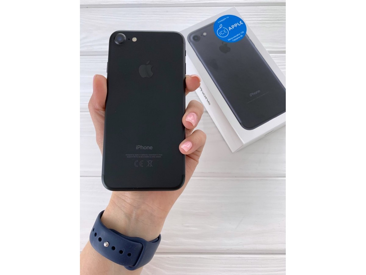 iPhone 7 32gb Black в Тюмени