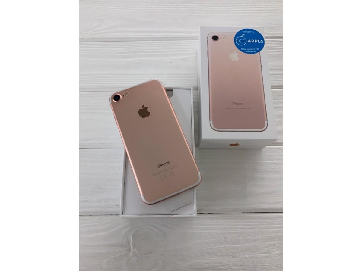 iPhone 7 128gb Rose Gold (новый) в Тюмени