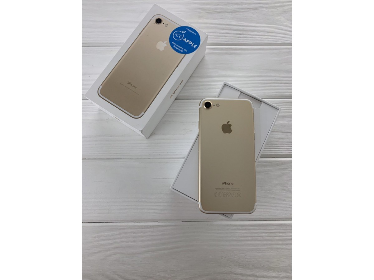 iPhone 7 128Gb Gold в Тюмени