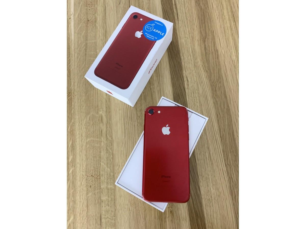 iPhone 7 128gb Red в Тюмени