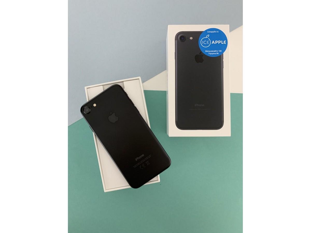 Apple iPhone 7 32Gb Black в Тюмени