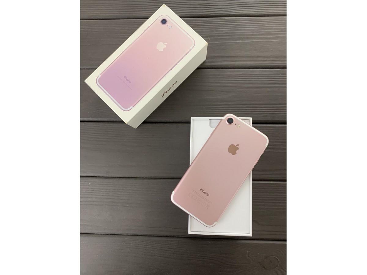Apple iPhone 7 128Gb Rose Gold в Тюмени