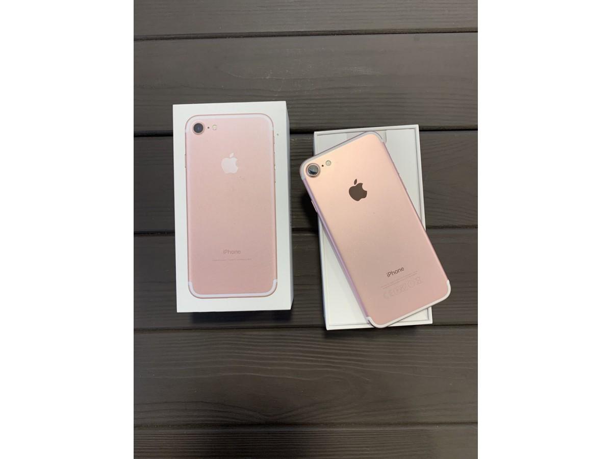 Apple iPhone 7 32gb Rose Gold в Тюмени
