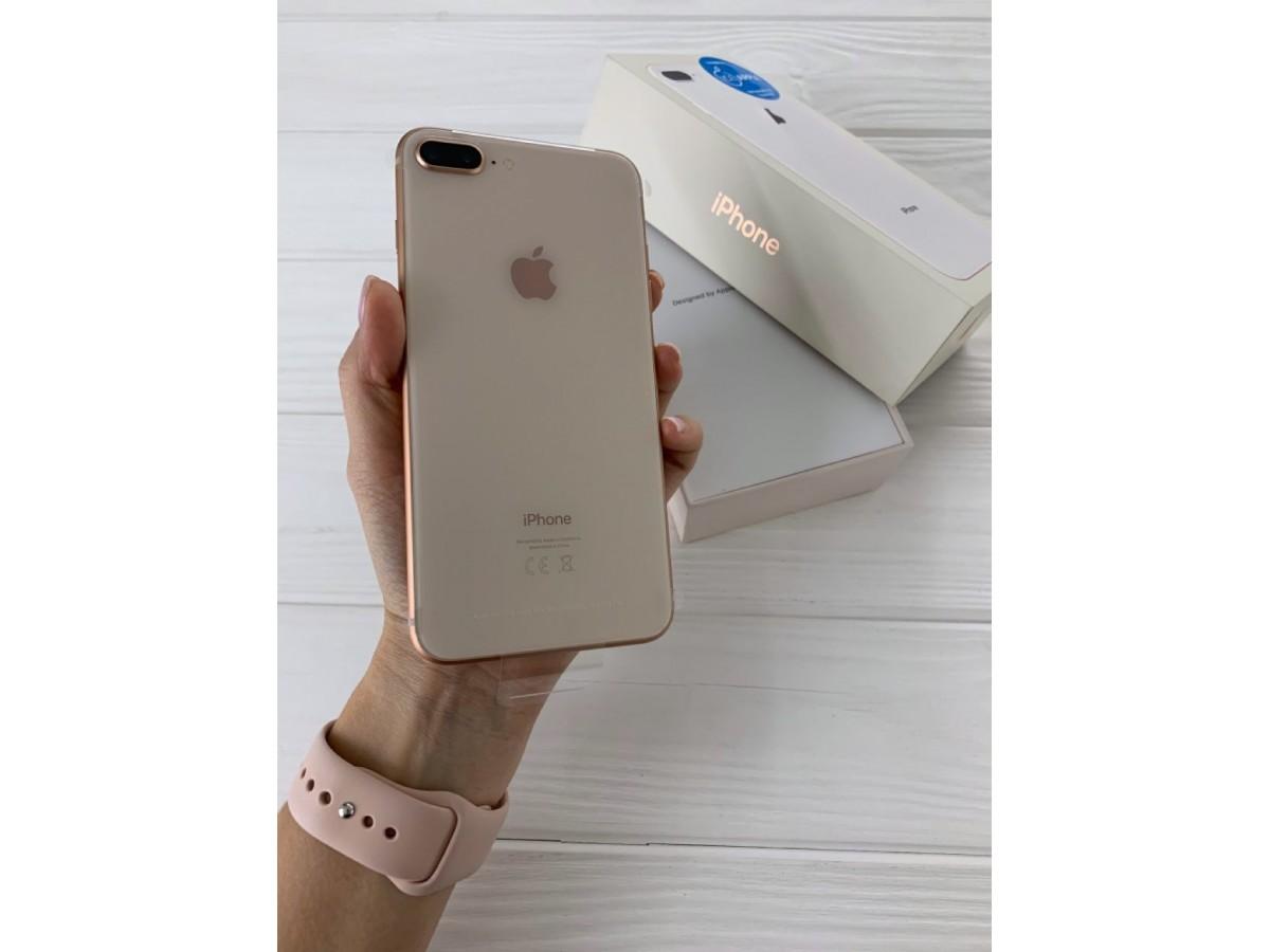 iPhone 8 Plus 64Gb Gold (новый) в Тюмени