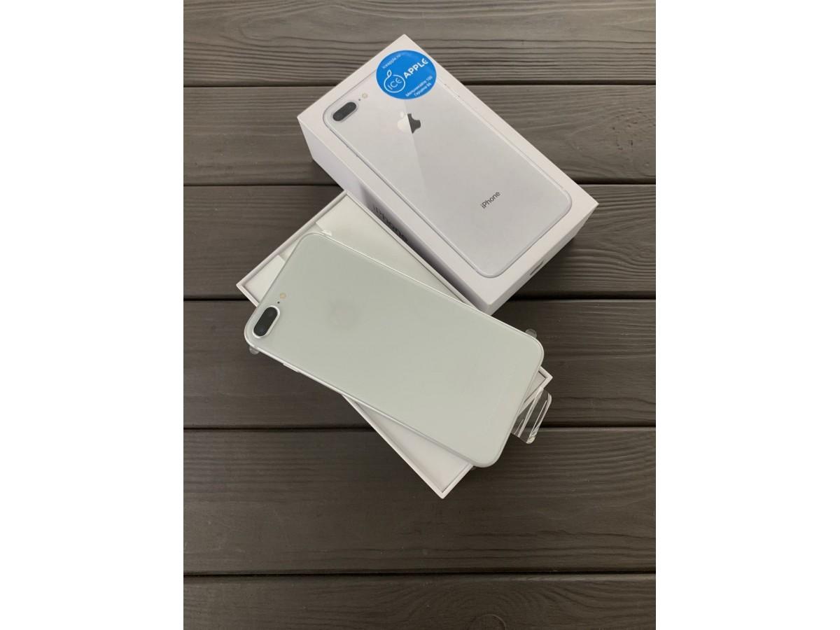 iPhone 8 Plus 64gb Silver (новый) в Тюмени