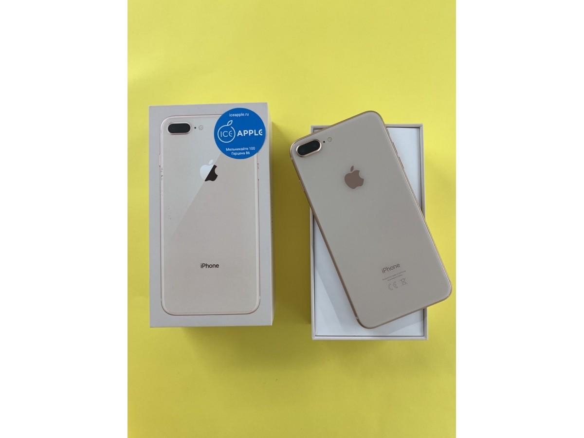 Apple iPhone 8 Plus 64Gb Gold в Тюмени