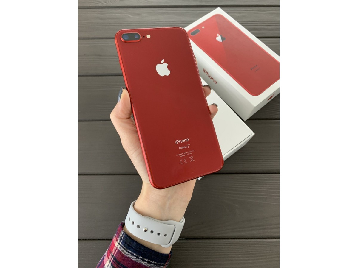 Apple iPhone 8 Plus 64Gb Red в Тюмени