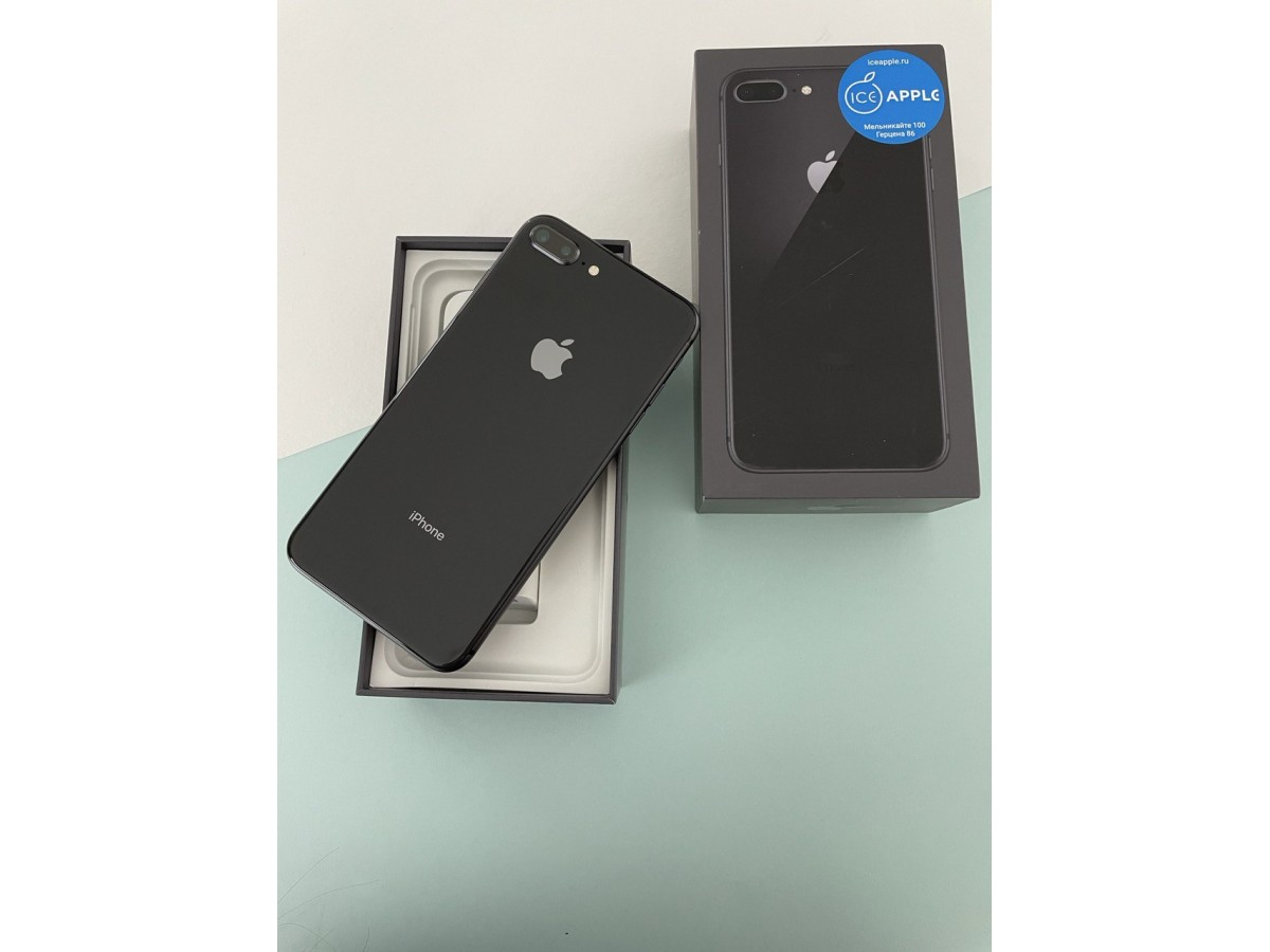 Apple iPhone 8 Plus 64gb Space Gray в Тюмени