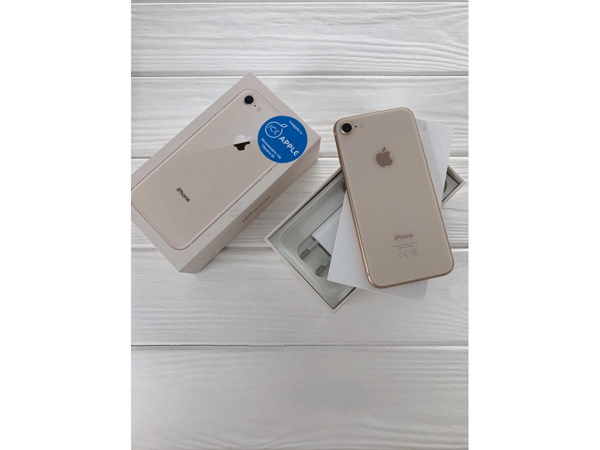 iPhone 8 64gb Gold в Тюмени