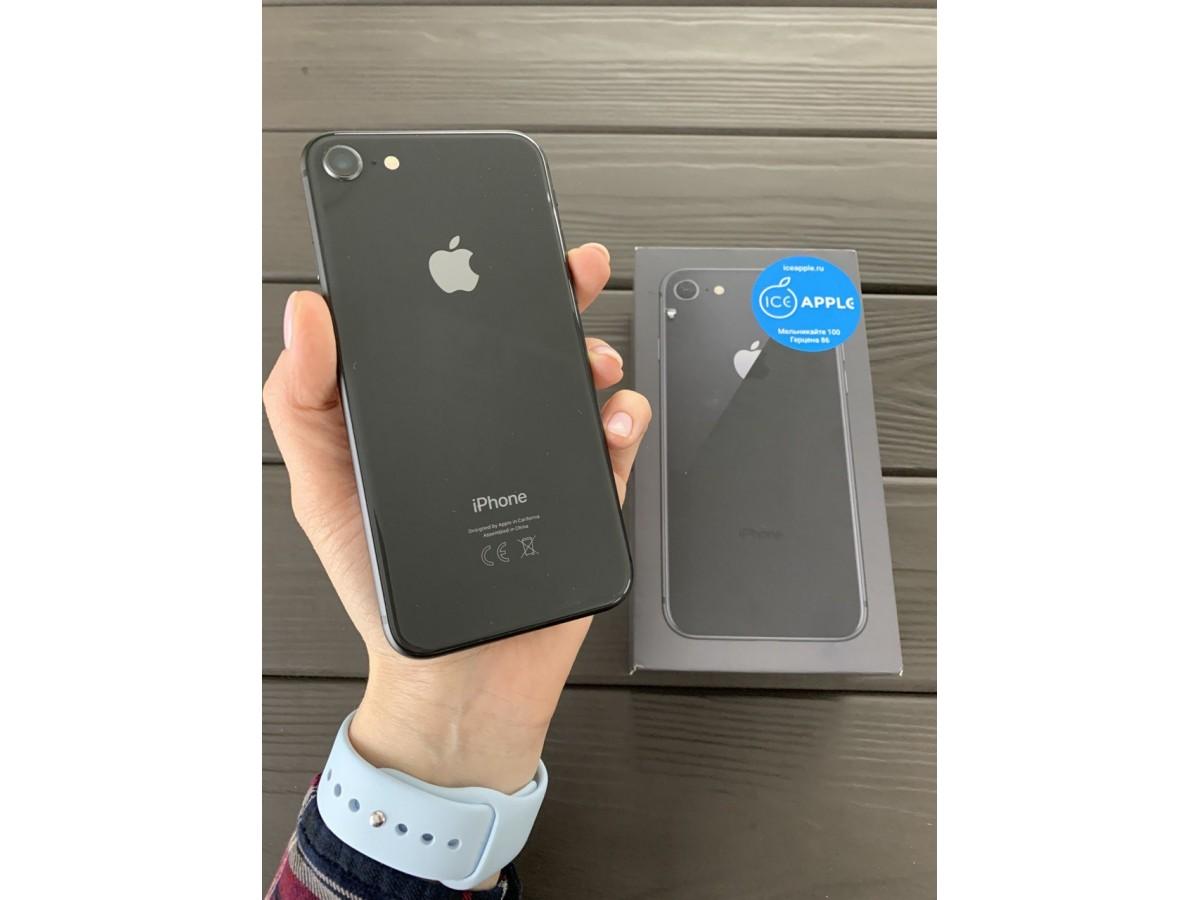 Apple iPhone 8 64gb Space Gray в Тюмени