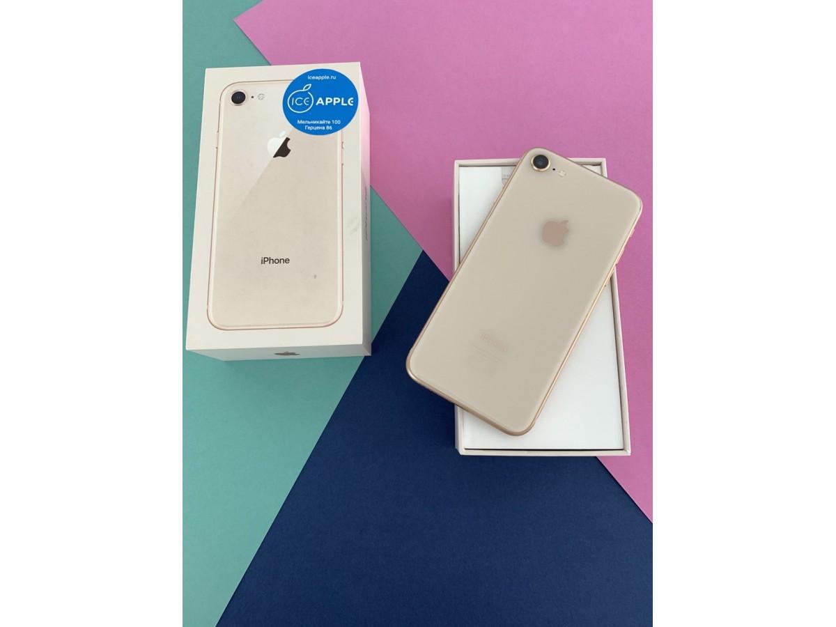 Apple iPhone 8 256gb Gold в Тюмени