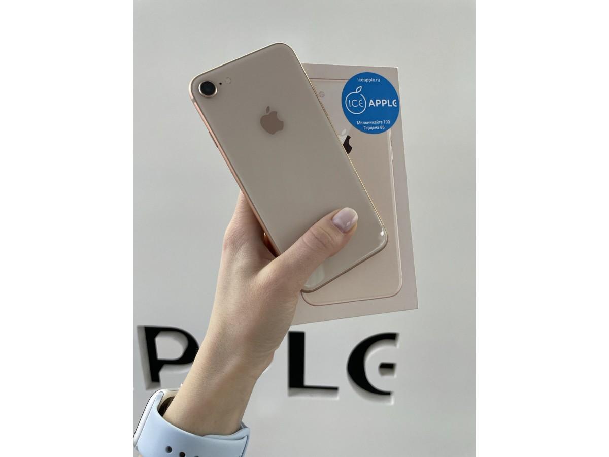Apple iPhone 8 64gb Gold в Тюмени