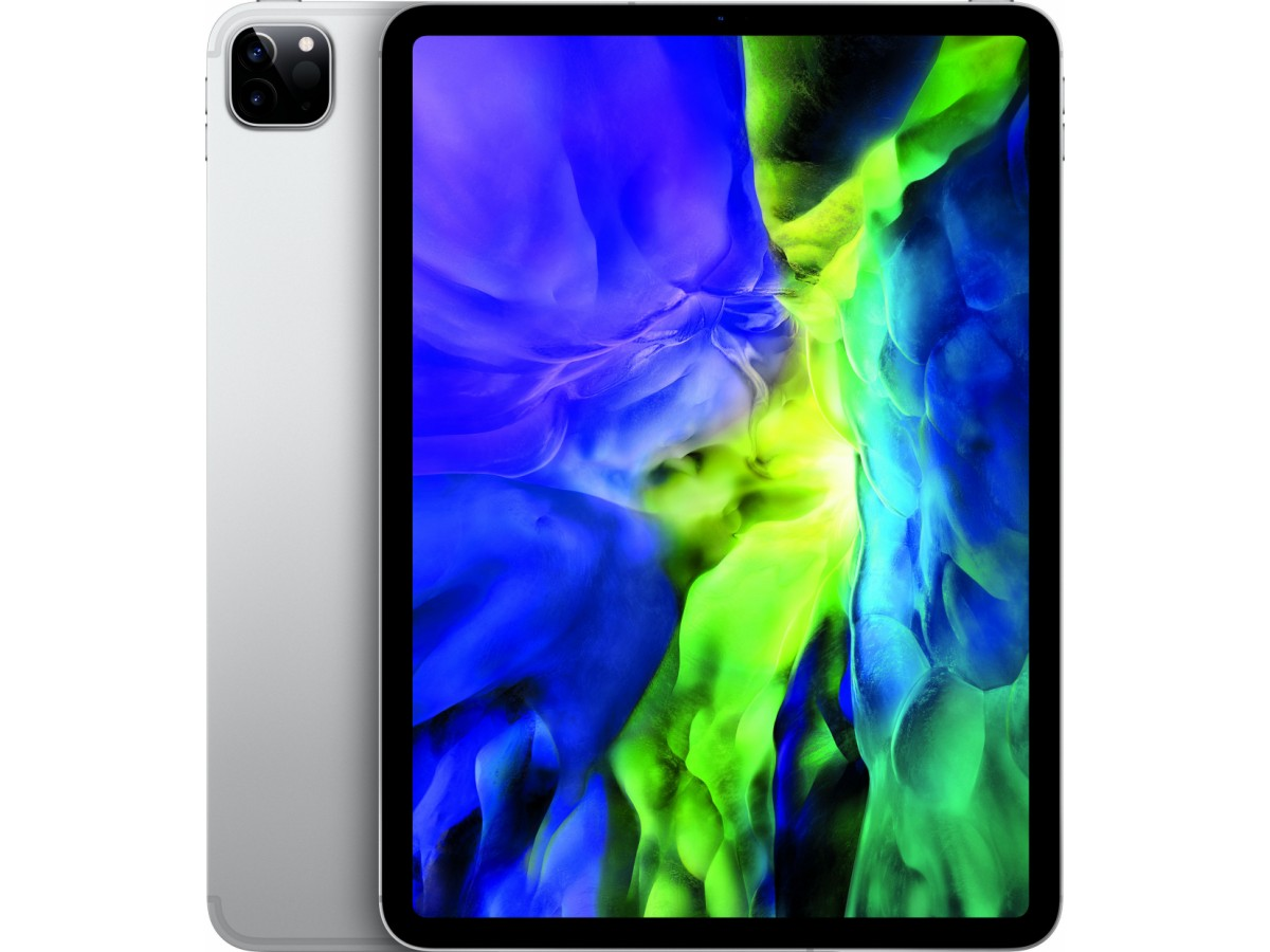 "Apple iPad Pro (2020) 11"" Wi-Fi + Cellular 256GB (серебристый) в Тюмени"