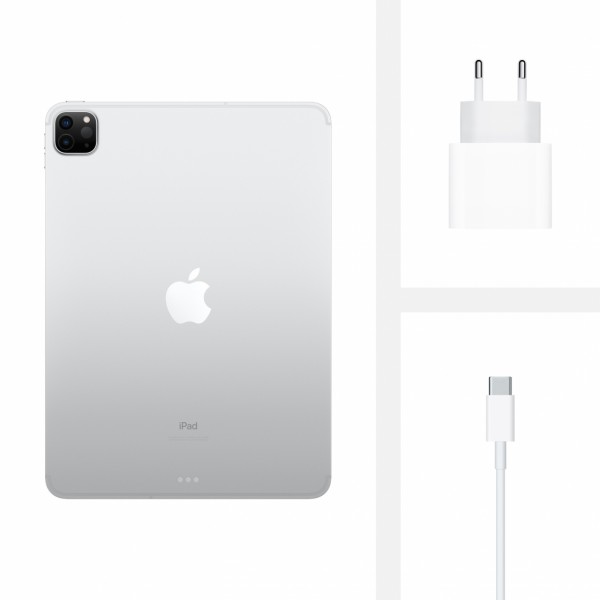 "Apple iPad Pro (2020) 11"" Wi-Fi + Cellular 128GB (серебристый)"