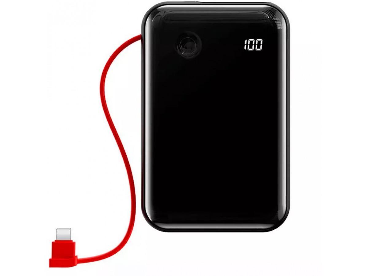 Power Bank Baseus Mini S 10000 mah черный в Тюмени