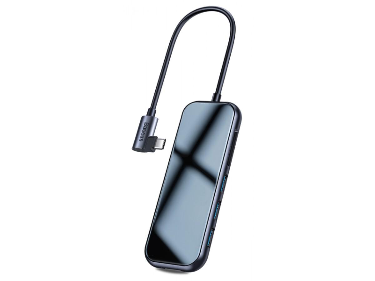 Хаб-переходник Baseus Type-C (USB3.0 + SD/TF +HDMI + Audio + PD) в Тюмени