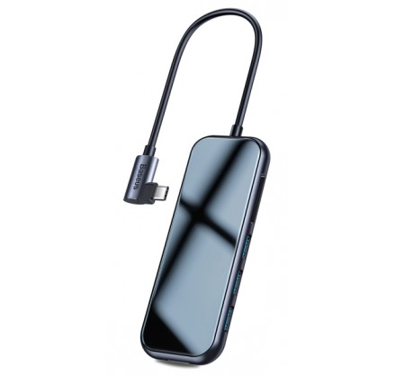 Хаб-переходник Baseus Type-C (USB3.0 + SD/TF +HDMI + Au...