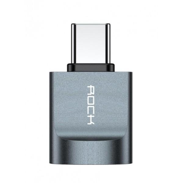 Переходник Rock RCBO770 USB/Type-C