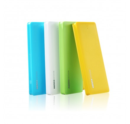 Power bank Remax PowerBox 5000mAh (Цветные плоские)