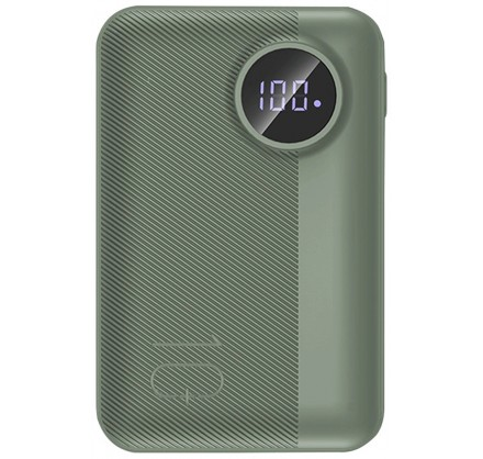 Power Bank Rock P75 Mini 10000mAh (зеленый)