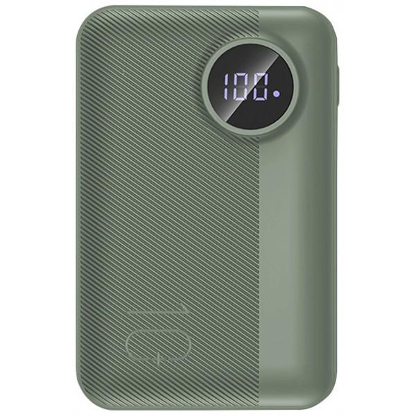 Power Bank Rock P75 Mini 10000mAh (зеленый)