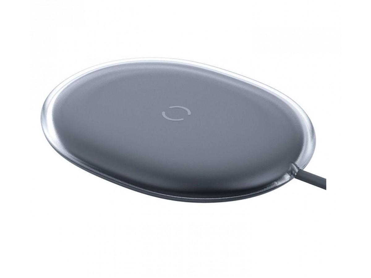 Беспроводное зарядное устройство Baseus Jelly wireless charger 15W черное в Тюмени