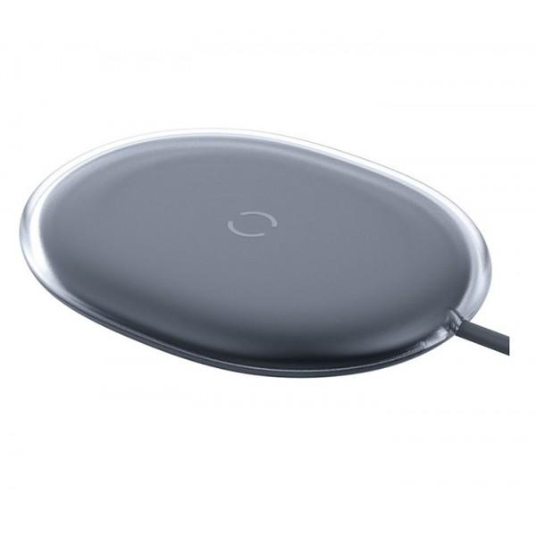 Беспроводное зарядное устройство Baseus Jelly wireless charger 15W черное