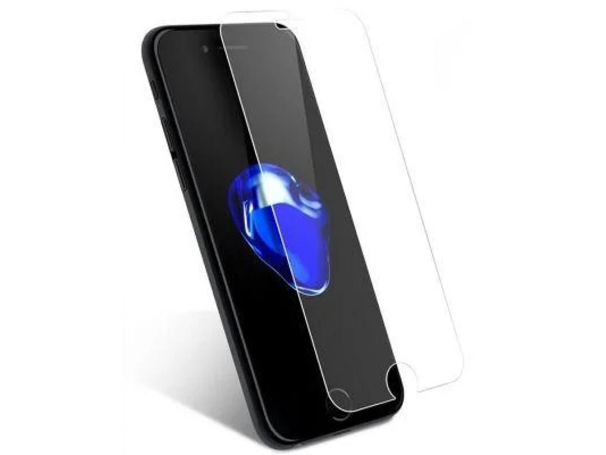 Прозрачное защитное стекло для iPhone SE (2020) в Тюмени