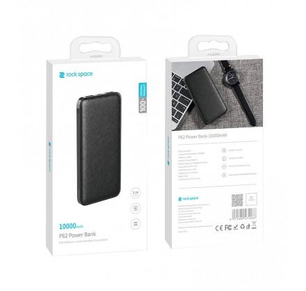 Power Bank Rock P62 Pro 10000mAh (черный/белый)
